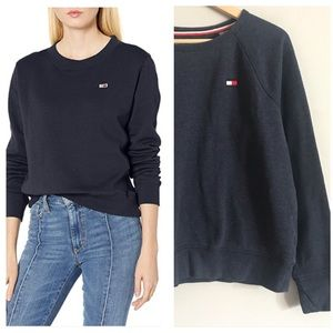 Tommy Hilfiger sport navy blue pullover sweater